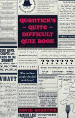 Quantick's Quite Difficult Quiz Book