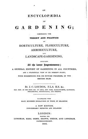 An Encyclopædia of Gardening