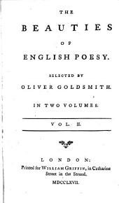 The beauties of English poesy