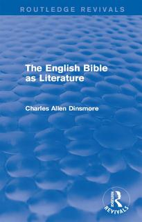 The English Bible as Literature Book
