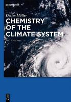 Chemistry of the Climate System PDF