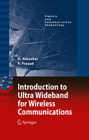 Introduction to Ultra Wideband for Wireless Communications PDF