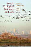 Social Ecological Resilience and Law PDF