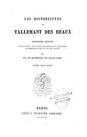 Historiettes de Tallemant des Réaux
