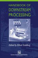 Handbook of Downstream Processing PDF