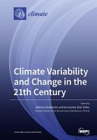 Climate Variability and Change in the 21th Century PDF