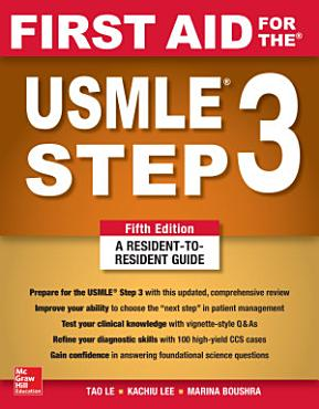 First Aid for the USMLE Step 3  Fifth Edition PDF