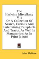 The Harleian Miscellany V1
