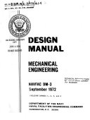 Design Manual, Mechanical Engineering