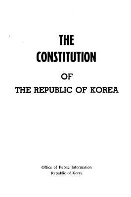 The Constitution of the Republic of Korea PDF