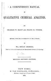 A Compendious Manual of Qualitative Chemical Analysis