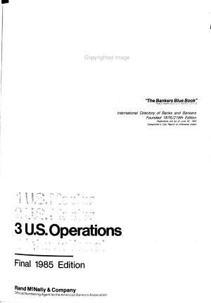 Rand McNally International Bankers Directory
