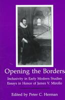 Opening the Borders PDF
