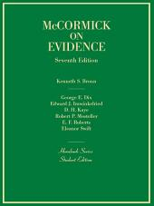 Evidence, 7th (Hornbook Series): Edition 7