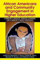 African Americans and Community Engagement in Higher Education PDF