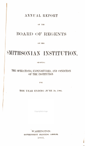 Annual Report of the Board of Regents of the Smithsonian Institution: 1902