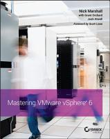 Mastering VMware vSphere 6 PDF