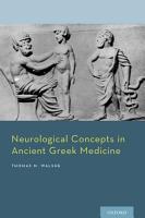 Neurological Concepts in Ancient Greek Medicine PDF