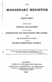 The Missionary Register ...