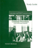 Criminal Procedure For The Criminal Justice Professional Book PDF
