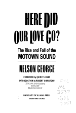 Where Did Our Love Go?