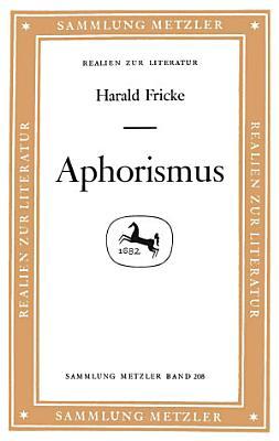 Aphorismus PDF