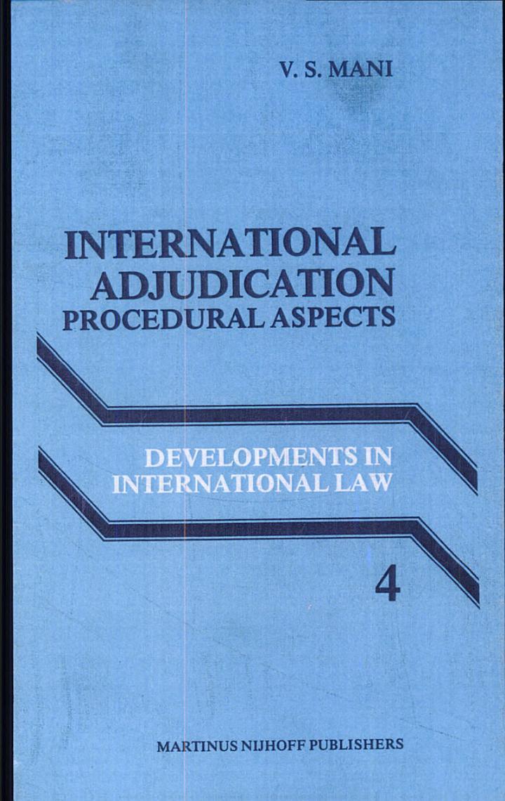 International Adjudication