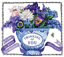 Thinking of You (A Bouquet in a Book)