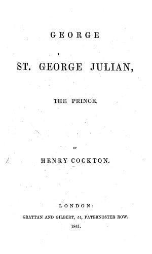 George St  George Julian  the Prince