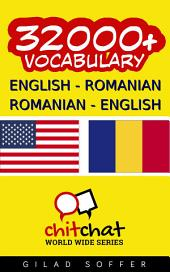 32000+ English - Romanian Romanian - English Vocabulary