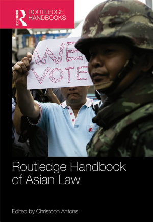 Routledge Handbook of Asian Law PDF