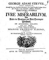 Tractatio iur. de iure miserabilium