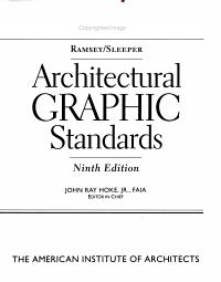 Ramsey Sleeper architectural graphic standards