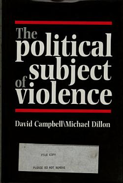 The Political Subject of Violence PDF