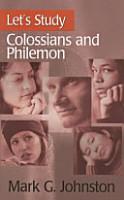 Let s Study Colossians and Philemon PDF