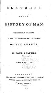 Sketches of the History of Man: Volume 3