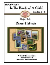 In the Hands of a Child  Desert Habitats PDF