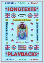 100 Englische Welthits (1/3) + 100 Gitarren-Playbacks ( MP3 ) / Songbuch