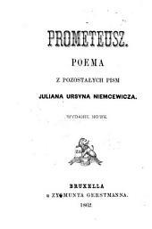 Prometeusz: poema z pozostałych pism Juliana Ursyna Niemcewicza