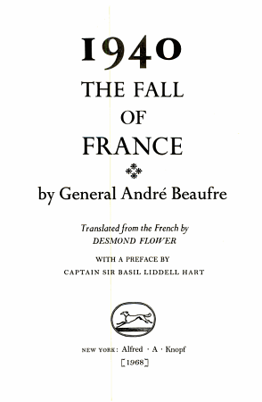 1940 The Fall of France PDF