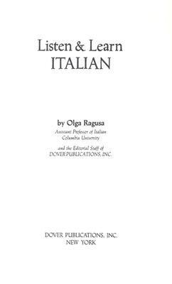 Listen   Learn Italian