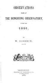 Meteorological Observations