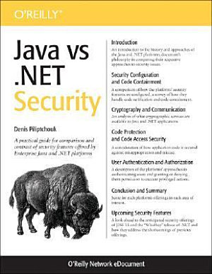 Java Vs   NET Security