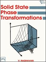 SOLID STATE PHASE TRANSFORMATIONS PDF
