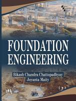 FOUNDATION ENGINEERING PDF