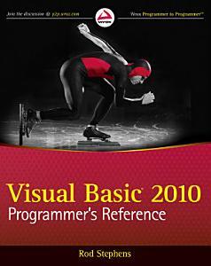 Visual Basic 2010 Programmer s Reference PDF