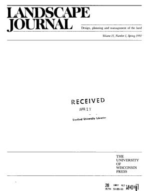 Landscape Journal PDF