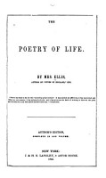 The Prose Works of Mrs  Ellis  The poetry of life  Pictures of private life  first and second series  A voice from the vintage PDF