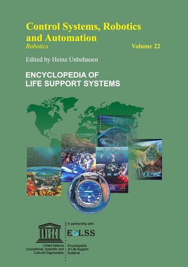 CONTROL SYSTEMS  ROBOTICS AND AUTOMATION     Volume XXII PDF