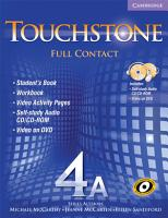 Touchstone 4A Full Contact  with NTSC DVD  PDF